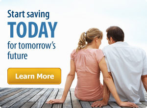 Start saving today for tomorrows future