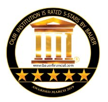 The 5-Star Rating Recommended Rating from Bauer Financial