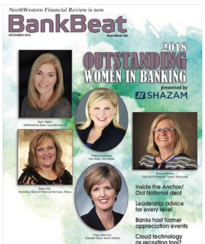 BankBeat article featuring Katie Incantalupo