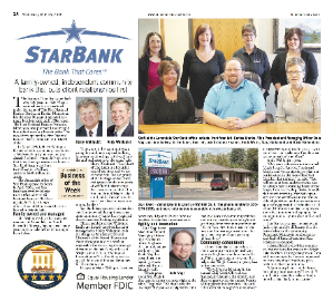 Star Bank newspaper from May 18, 2016