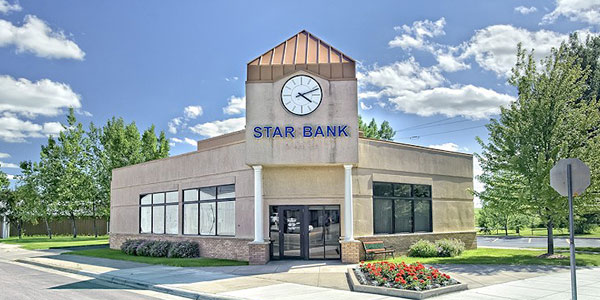 Star Bank office in Elbow Lake