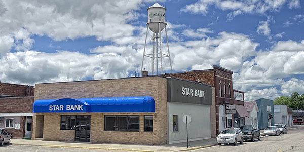 Star Bank office in Verndale